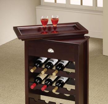 Glenward Cherry Wine Rack
