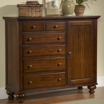 Leticia Brown Door Chest