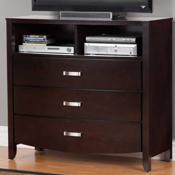 "Monet Glossy Espresso 40.8""L TV Chest"