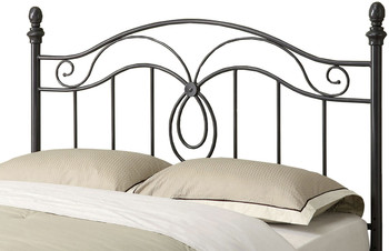 Chilton Black F/Q Headboard