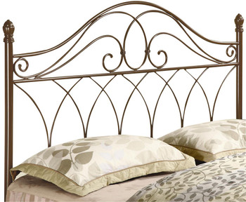 Cleatus Brown F/Q Headboard