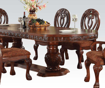 Bellissa Cherry Double Pedestal  7PC Dining Set