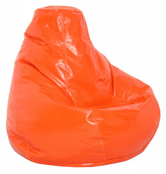 Orange Wetlook X Large Size BeanBag