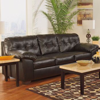 "Avant 93"" Wide Dark Chocolate Sofa"