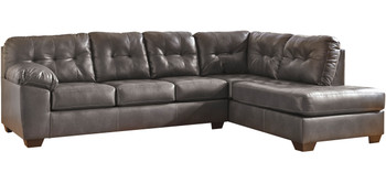 """AVANT Gray 120"""" Wide Sectional"""