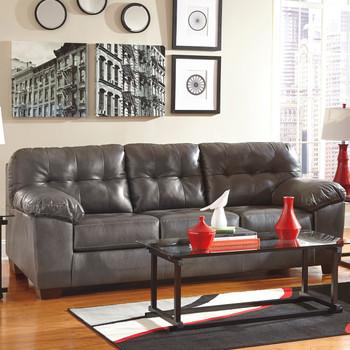 "Avant 93"" Wide Gray Sofa"