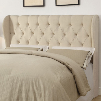 Suzete Beige California King Headboard
