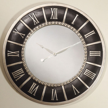 "Mori Black 30"" Wall Clock"