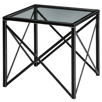 Newt Black End Table