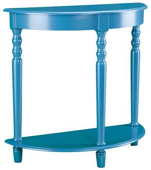 Nero Blue Accent Table