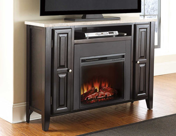 Joey Marble Top Fireplace/Media Console