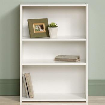 Origins White 3 Shelf Bookcase