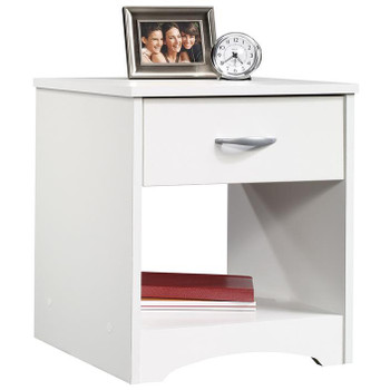 Origins White Night Stand