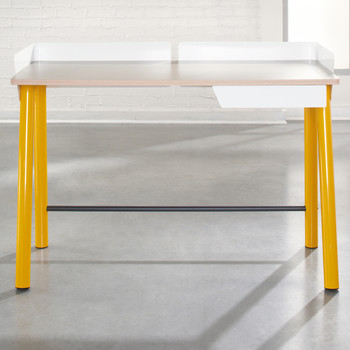 ESSENCE 44'' Wide Yellow Desk