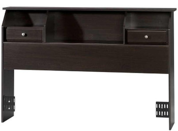 Vickery Chocolate Bookcase Headboard