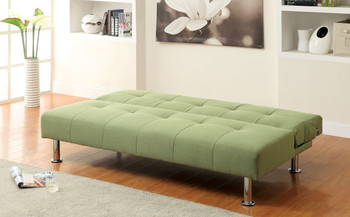 Midor Green Fabric Sofa Bed