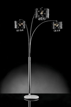 """Abigail 89"""" High Arched Floor Lamp"""