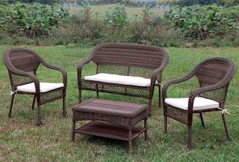 Vallejo 4 Piece Patio Seating Set