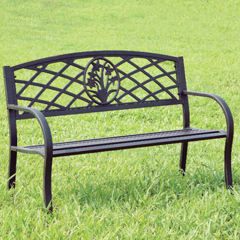 "Breeze 50"" Wide Outdoor Bench"