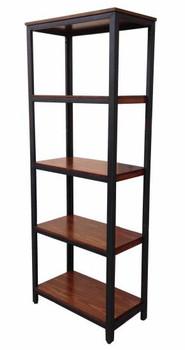 An Bookcase-Brown/Black