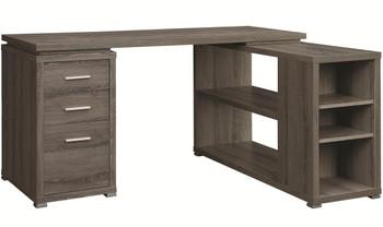 "MODERNA Gray 60"" Wide Desk"