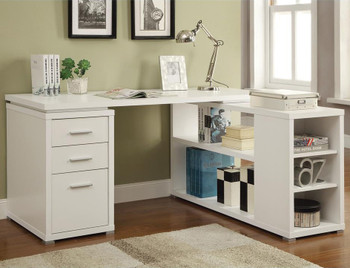Moderna White Desk