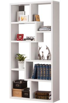"""COLM White 35"""" Wide Bookcase"""
