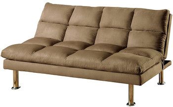 Ilean Light Brown Sofa Bed