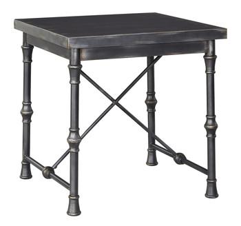 Merrlos Pewter End Table
