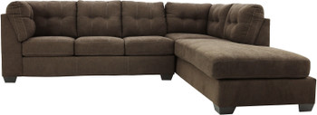 """NANDRI Cafe 117"""" Wide Sectional"""