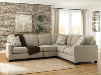 Ceylan Oatmeal Large Sectional