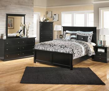 LUCIA Black Bedroom