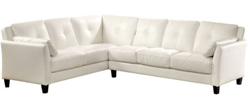Cendre White Sectional