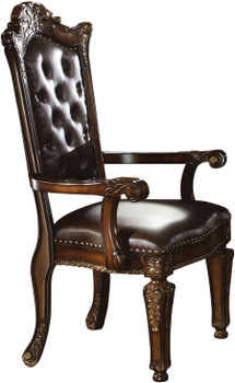 Crownwood Cherry Arm Chair