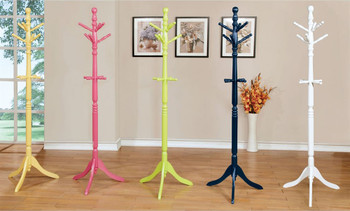 Palette White Youth Coat Rack