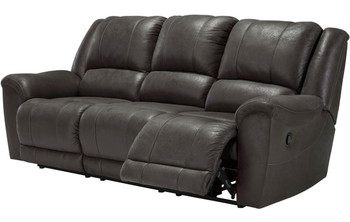 Bandit Gray Reclining Sofa