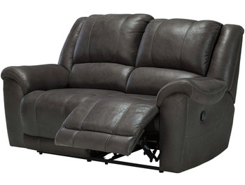 Bandit Gray Reclining Loveseat