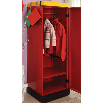 Blanket Gasoline Pump Kids Closet- Red