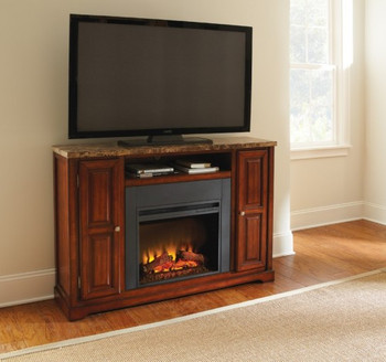 Jaime Fireplace & TV Stand