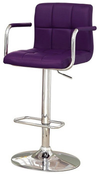 PHIPPS Purple Bar Stool
