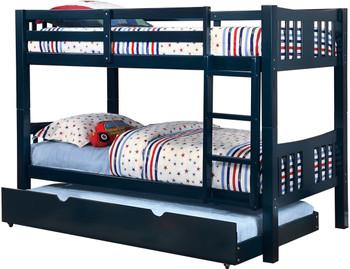 Mandell Blue Bunk Bed