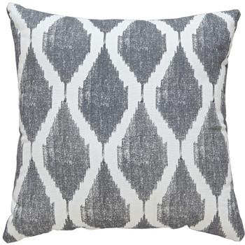 Bruce Gray/White Pillow