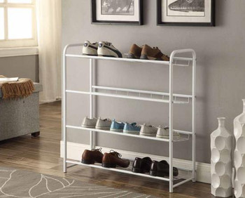 Baker Shoe Rack- White