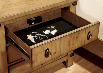 Pecos Night Stand with Power Station