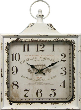 Valense White Wall Clock