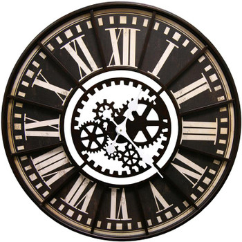 Makina Brown Wall Clock