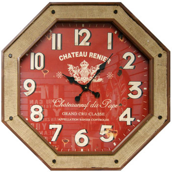 Oldbury Red Wall Clock