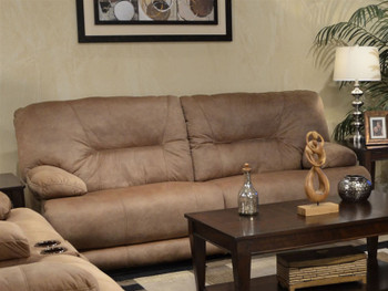 Cody Almond Nu-Buck Reclining Sectional