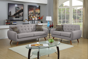 Marley Grey Sofa & Loveseat