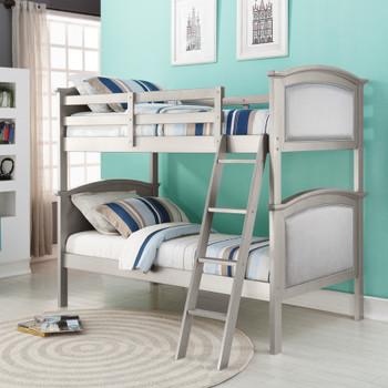 Dexter Platinum Silver Bunk Bed